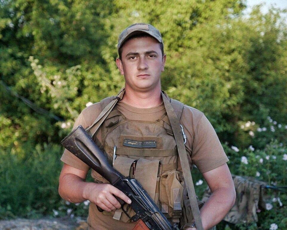 Александр Ляшок, 35-я ОБМП ВСУ