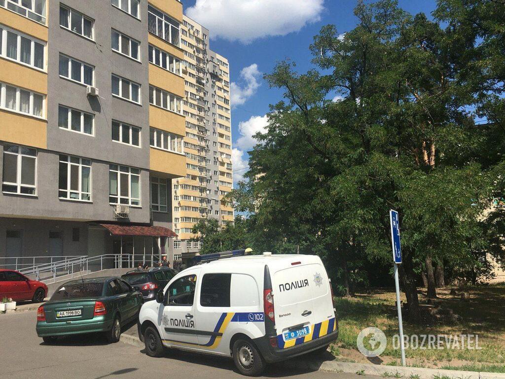 Дом, в котором был найден мертвым Дмитрий Тымчук