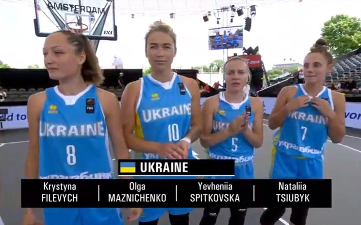 Украинки сверхдраматично начали чемпионат мира по баскетболу 3х3