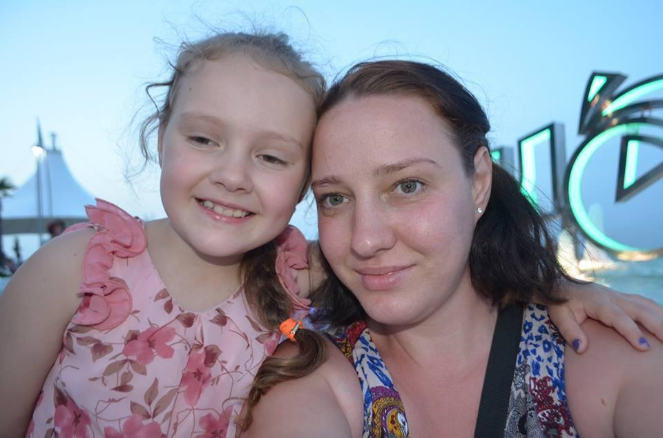 Людмила с дочерью