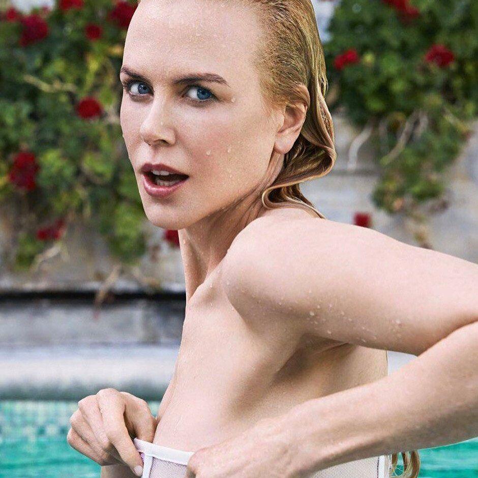 Кідман у басейні