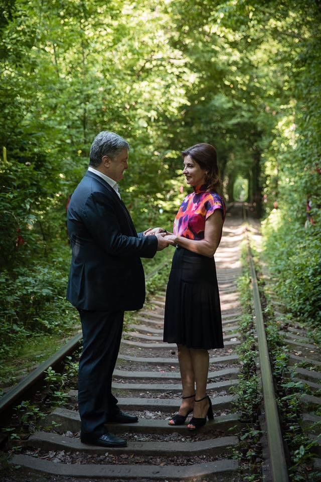 Петро Порошенко, Марина Порошенко