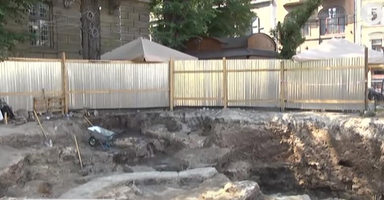 Раскопки во Львове