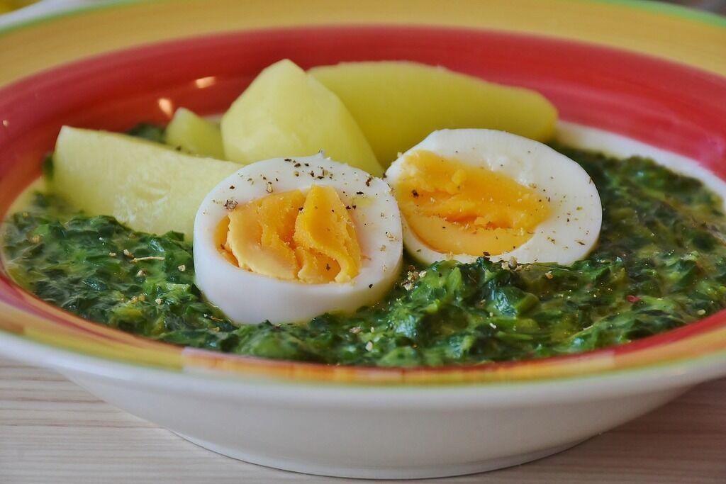 Шпинат: рецепты, как приготовить суп, салат, омлет, пирог