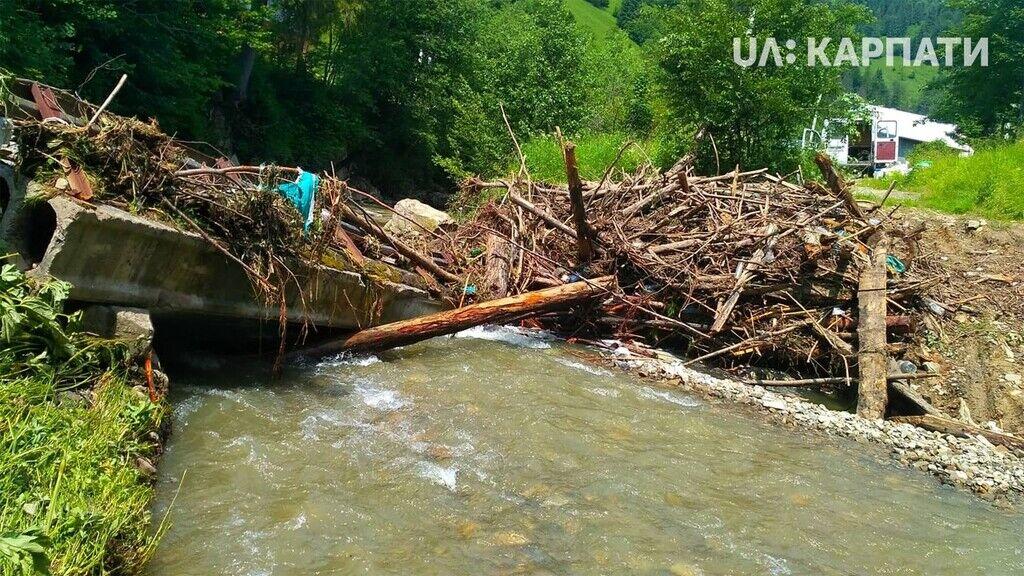 Наслідки руйнування моста