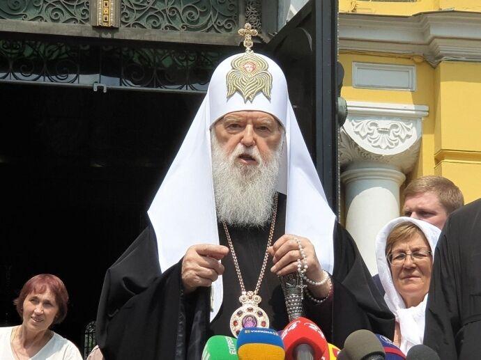 Почетный патриарх Филарет сам вывел себя за пределы ПЦУ