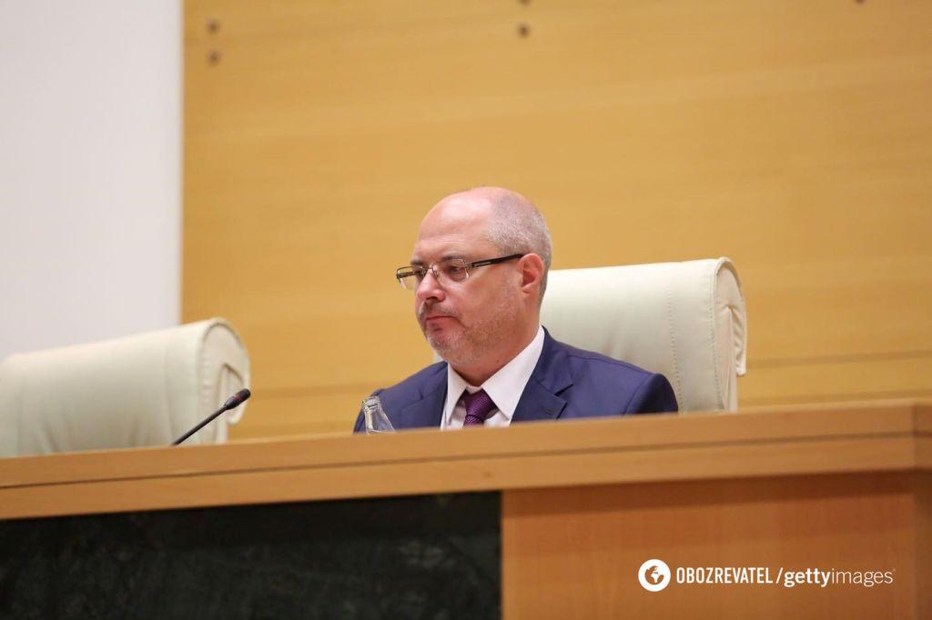 Гаврилов у парламенті Грузії