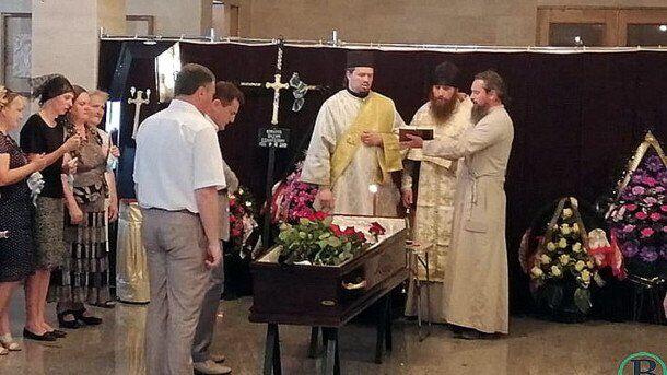 Похорон журналіста