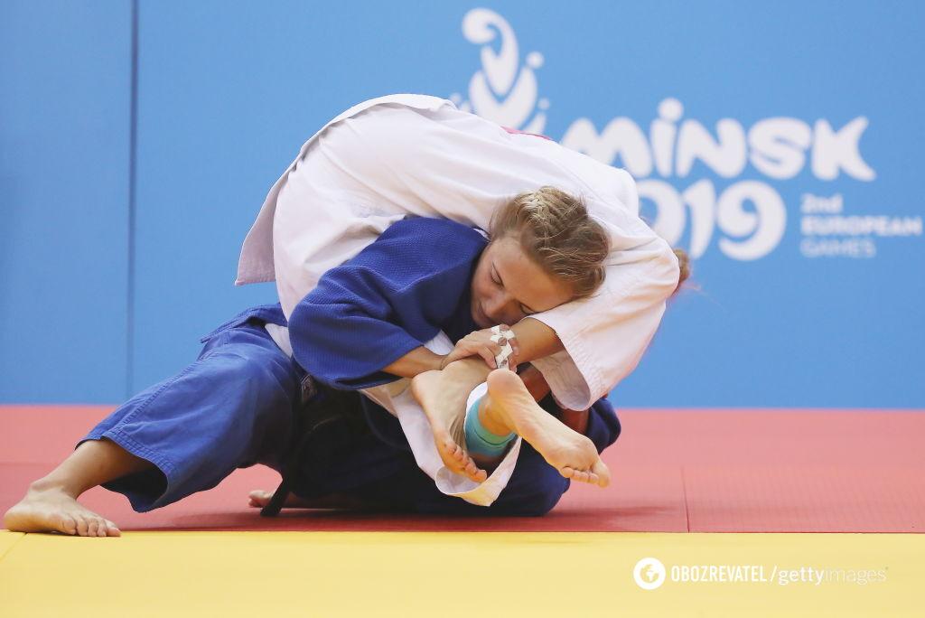 """Українка Білодід завоювала """"золото"""" Європейських ігор, перемігши росіянку"""