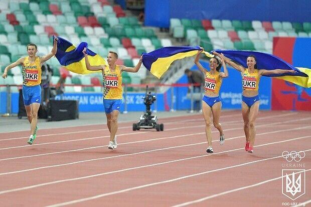 Данило Даниленко, Анна Рыжикова, Татьяна Мельник и Алексей Поздняков