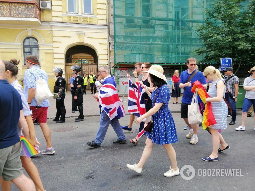 """""""Наша традиция – свобода"""": в Киеве прошел Марш равенства"""