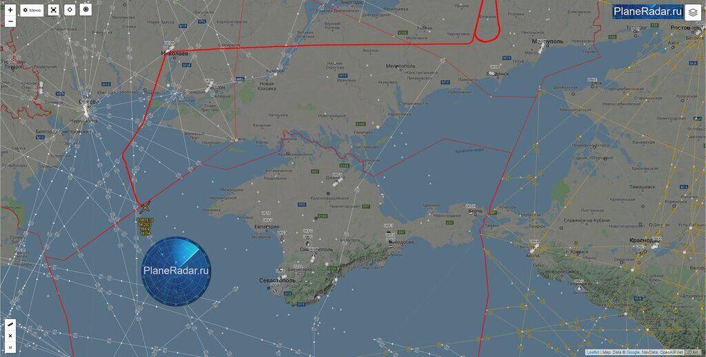 Самолеты США приблизились к Крыму и Донбассу: в чем дело