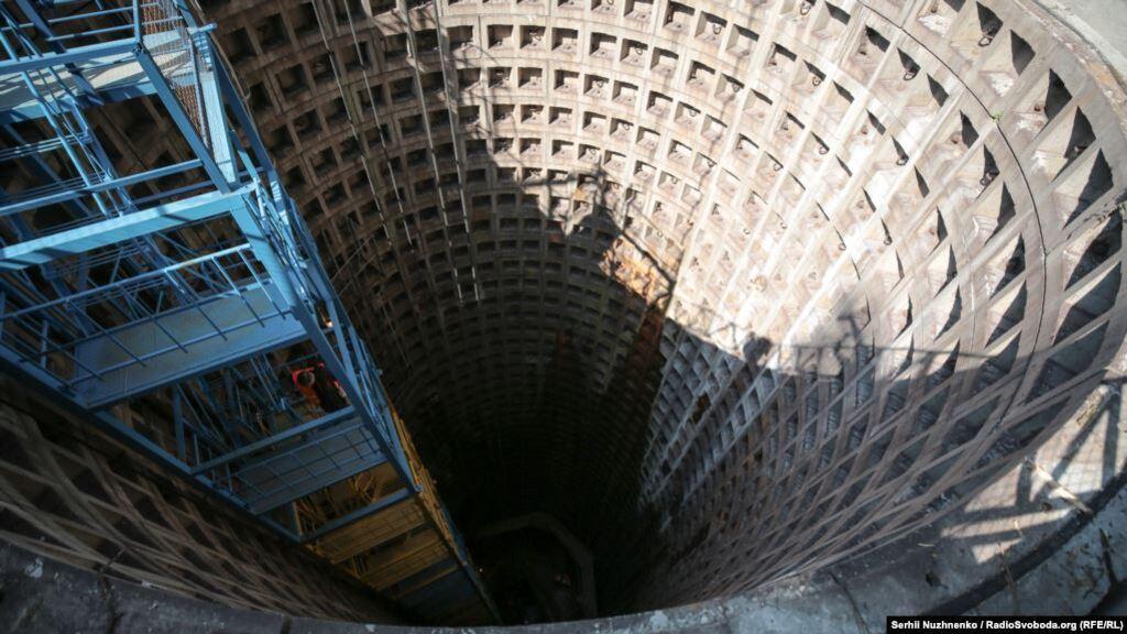 """""""Стовп"""" метро має глибину в 44 м"""
