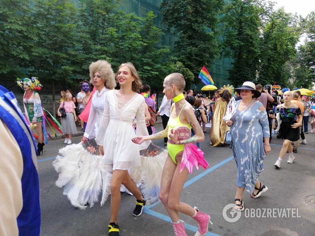 На Марш рівності в Києві прийшли ЛГБТ-військові