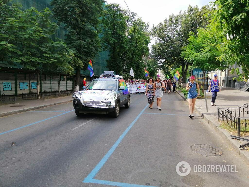 Марш ЛГБТ в Києві