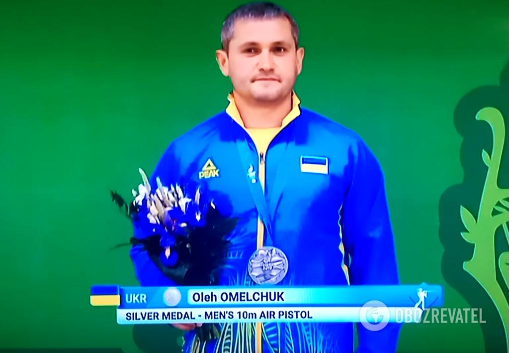 Украинский стрелок стал вице-чемпионом Европейских игр