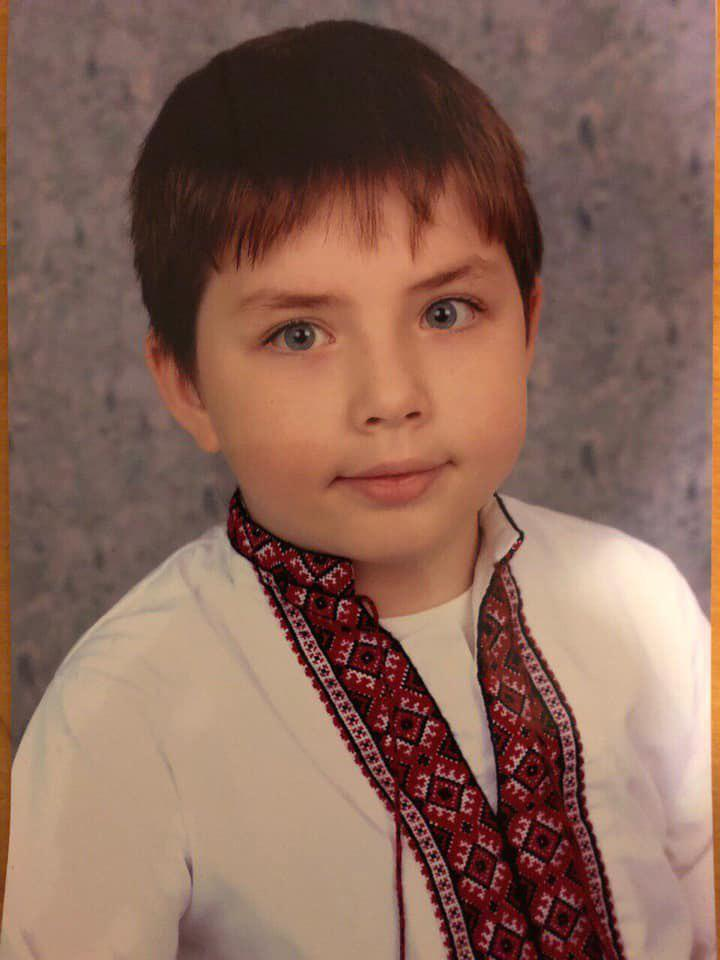 Убитый мальчик Захар Черевко