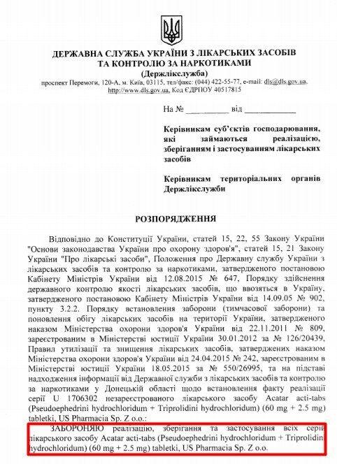 В Україні заборонили таблетки від алергії