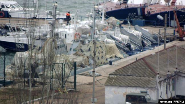 Порт в Керчи