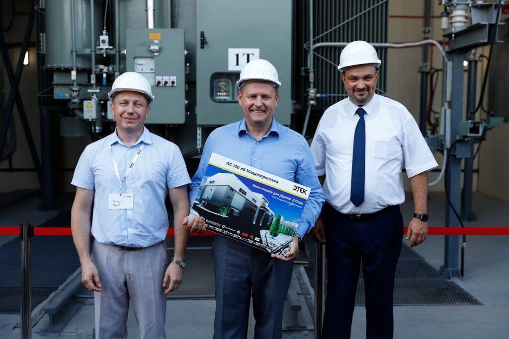 Филатов принял участие в запуске современнейшего энергообъекта в Украине
