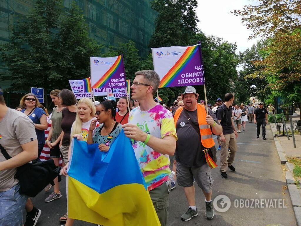 Марш равенства: организатор дала оценку громкой провокации