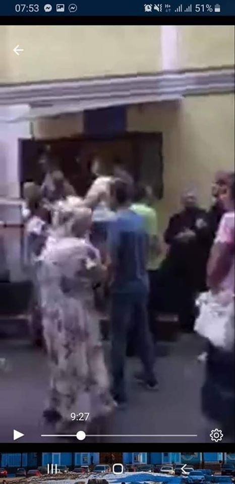 В Одессе попытались захватить церковь