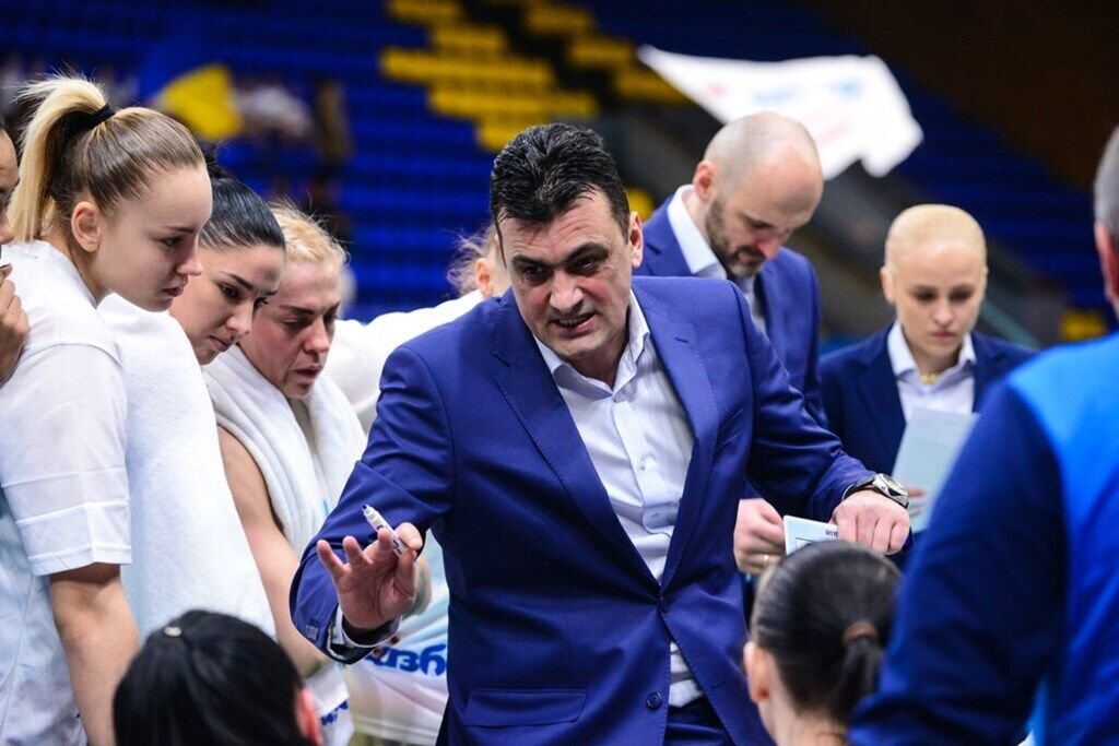 Тренер збірної України Горан Бошкович