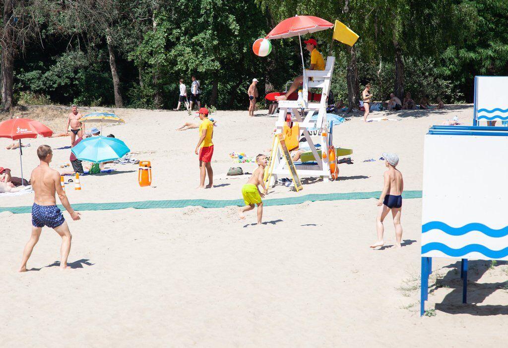 Нагороджені пляжі столиці