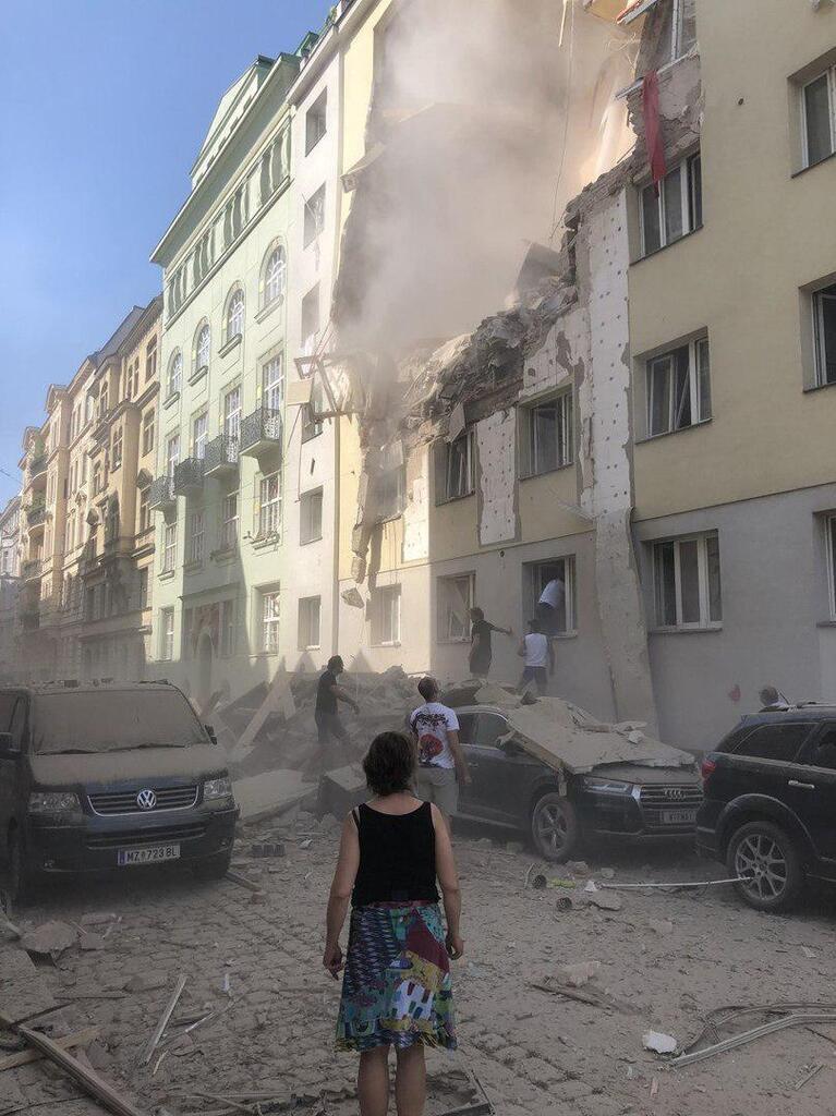 Взрыв в Вене