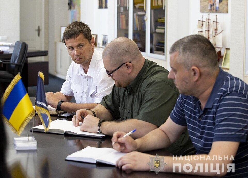 Вячеслав Аброськин и следственная группа