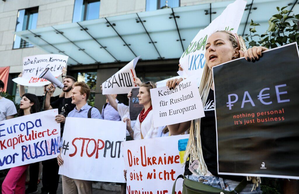 Возвращение России в ПАСЕ вызвало возмущение Украины