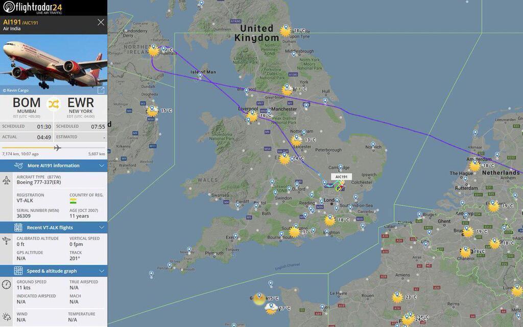 Сообщили о бомбе: в Лондоне экстренно сел самолет с пассажирами на борту