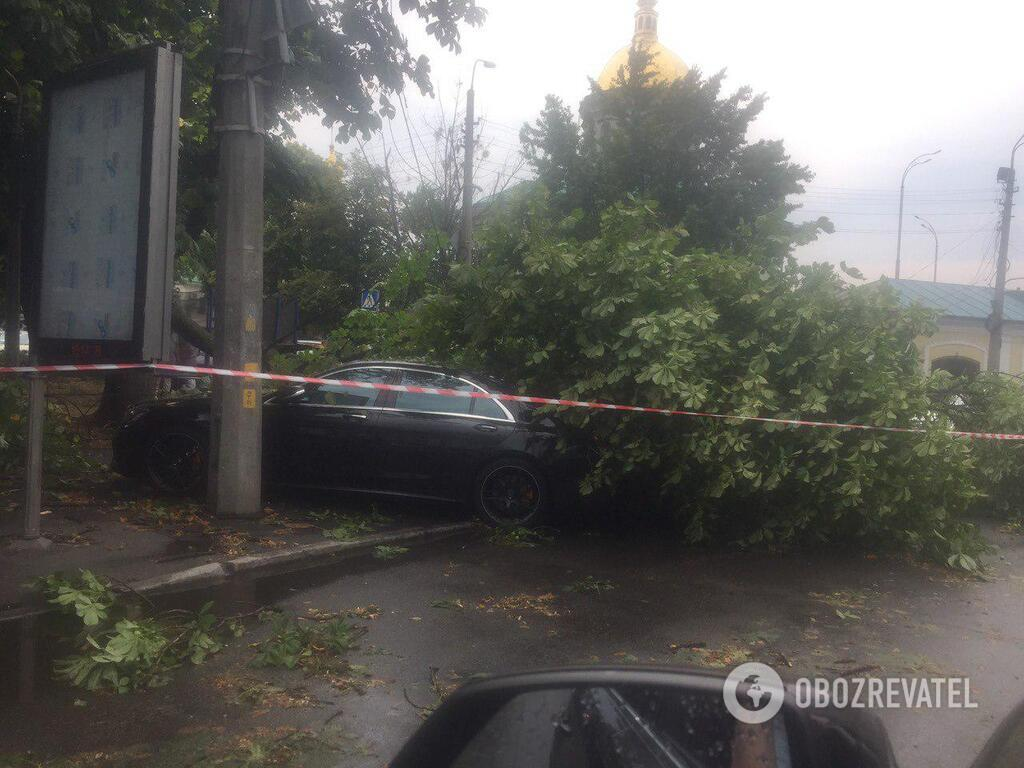 ЧП на вул. Ильинской