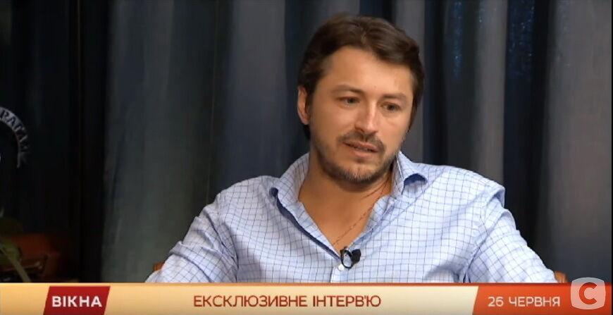 """Сергій Притула в програмі """"Вікна-новини"""""""