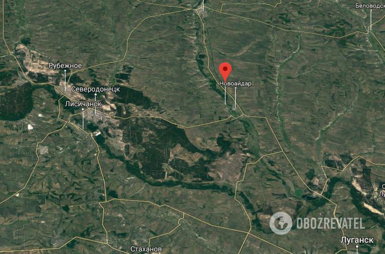 Случай произошел в с. Айдан-Николаевка