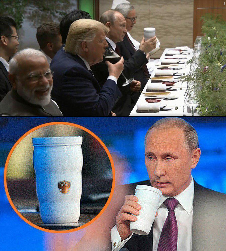 Путина уличили в паранойе на G20 в Японии