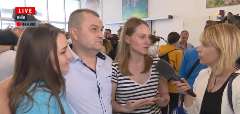 """Из плена """"Л/ДНР"""" освободили четверых бойцов ВСУ: они прибыли в Киев"""