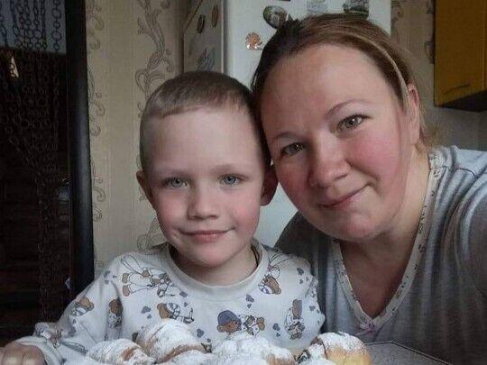 Кирилл с мамой