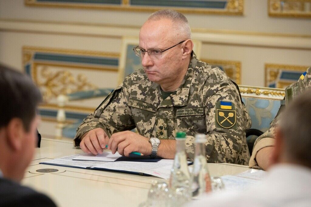 Начальник Генерального штабу ЗСУ Руслан Хомчак