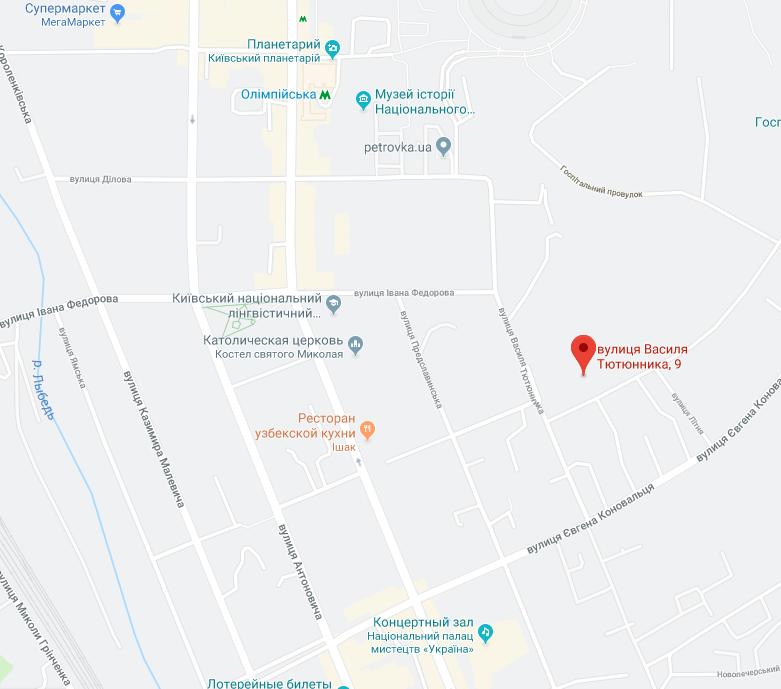 В центре Киева обрушился колледж: фото с места ЧП