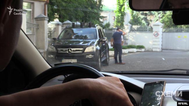 Авто охорони Кучми