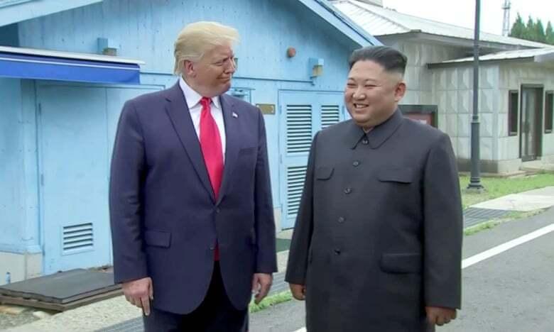Трамп зустрівся із Кім Чен Ином у КНДР: подробиці