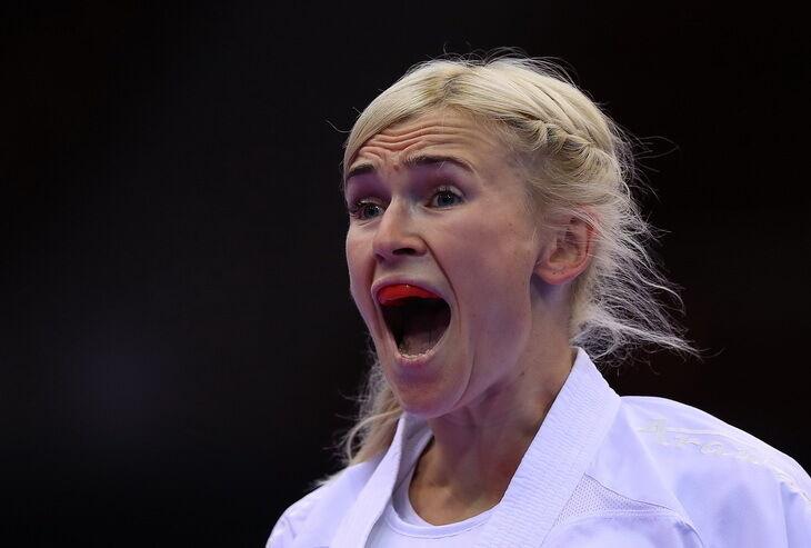 Анита Серегина – каратэ, победа в кумите до 61 кг