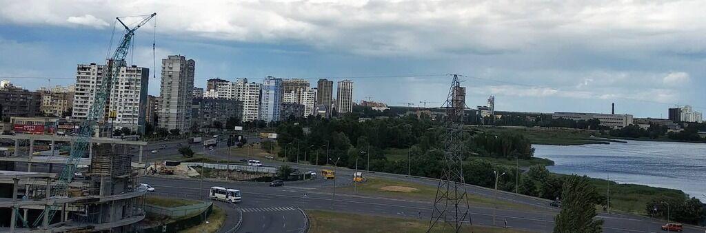 Вид на озеро Вырлица в Киеве, где убили Захара Черевко
