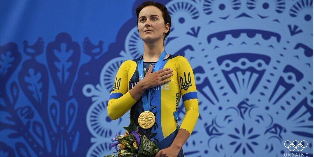 Анна Соловей – велоспорт. Победа в спорт-треке.