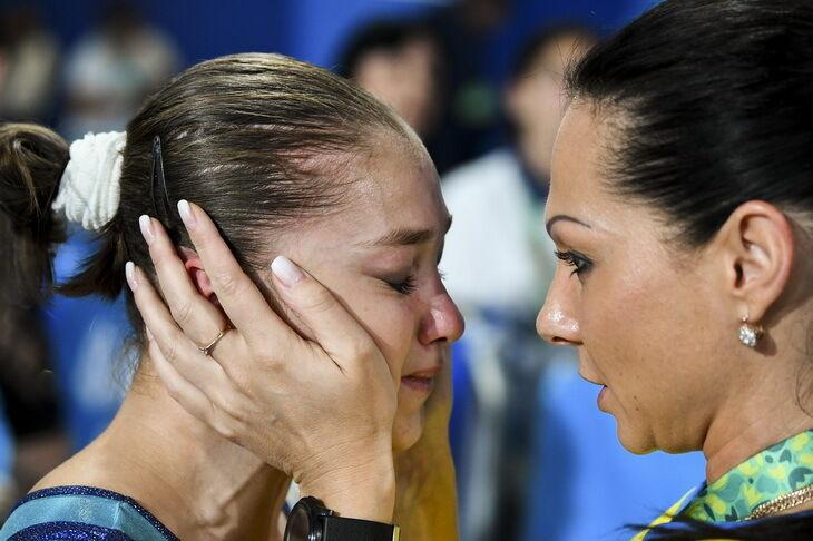 Анастасия Бачинская – спортивная гимнастика. Победа в вольных упражнениях.