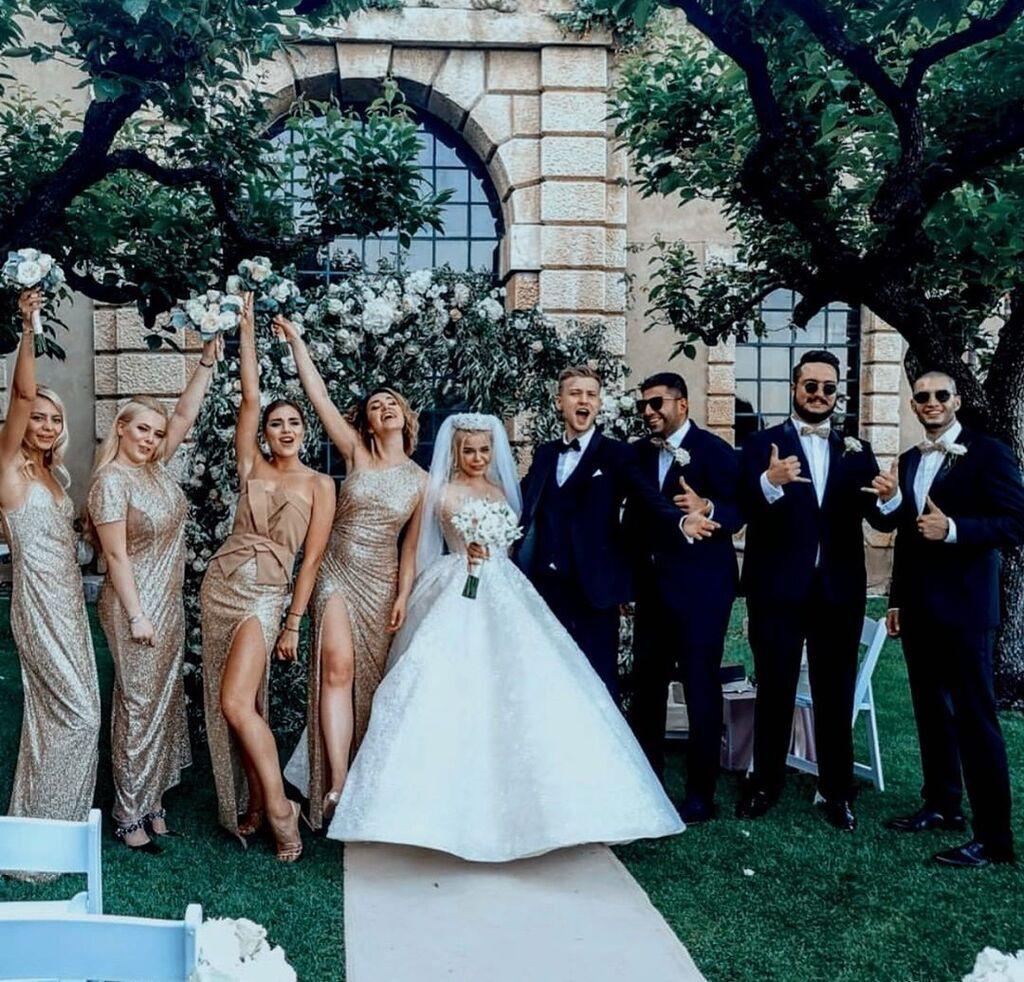 Свадьба Алины Гросу