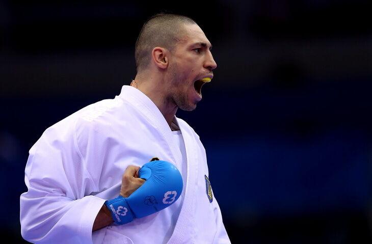 Станислав Горуна – каратэ, победа в кумитэ до 75 кг