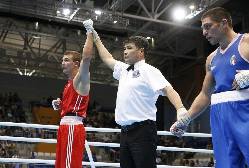 Александр Хижняк – бокс. Победа в весовой категории до 75 кг