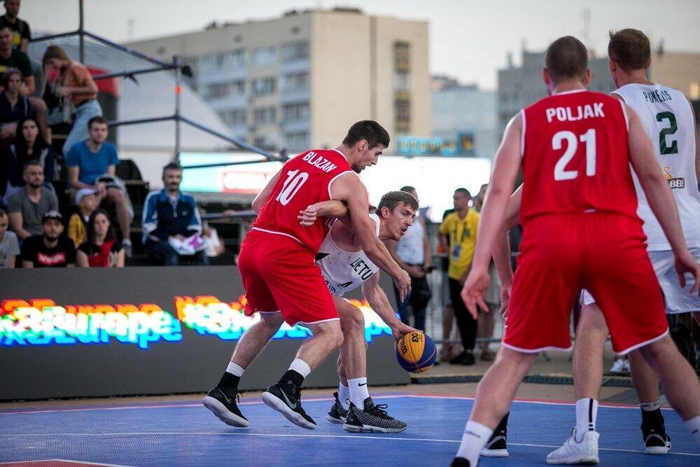 В Киеве определились участники Евробаскета 3х3